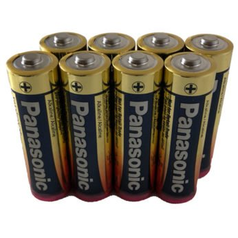 8 AA Cell Alkaline Batteries