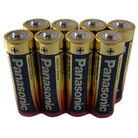 8 AA Cell Alkaline Batteries