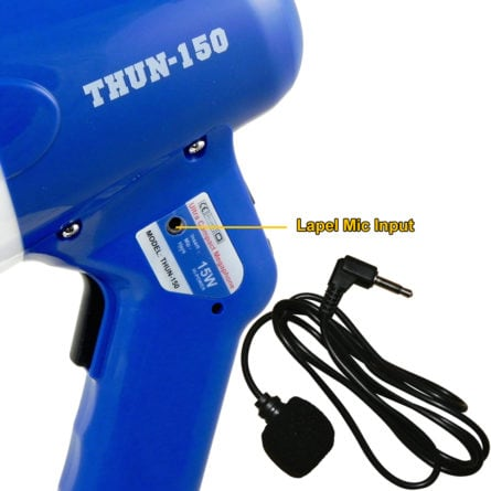 Thunderpower 150 with lapel mic.