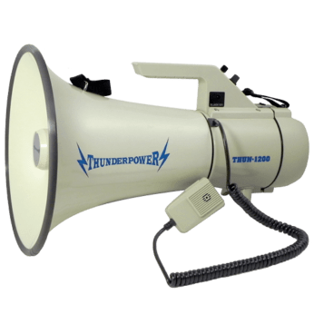 ThunderPower 1200 Megaphone side angle