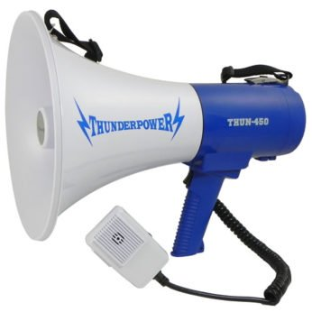 This is the ThunderPower 450 megaphone